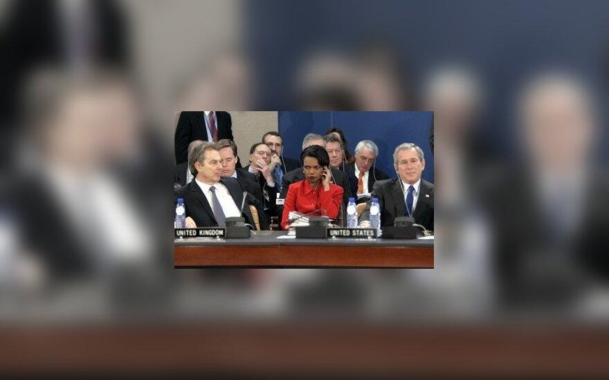 NATO viršūnių ir JAV prezidento susitikimas
