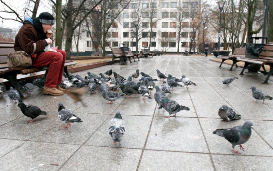 Sondaż: mieszkańcy Litwy czują się pozostawieni własnemu losowi