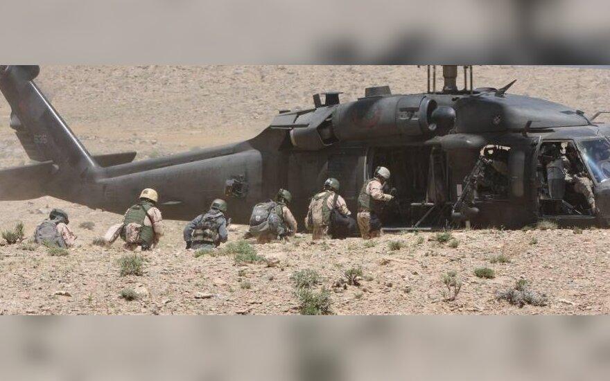 В Афганистане ранен литовский военный