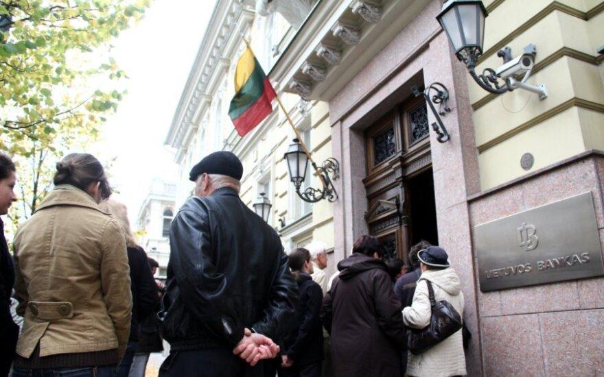 Опрос: Центробанк Литвы не утратил доверия
