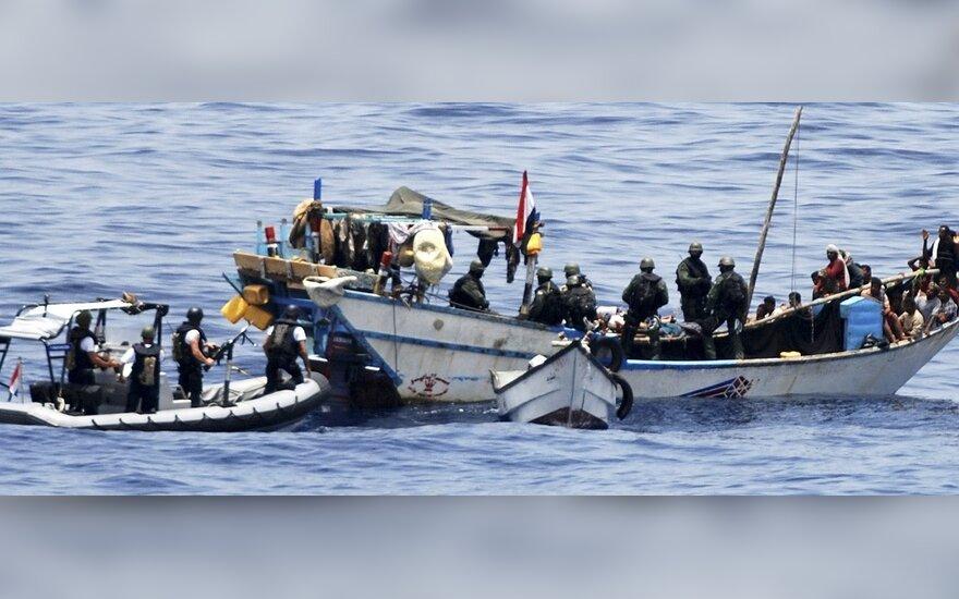 Поцюс: военных в Сомали могут послать во время председательства Литвы в ЕС