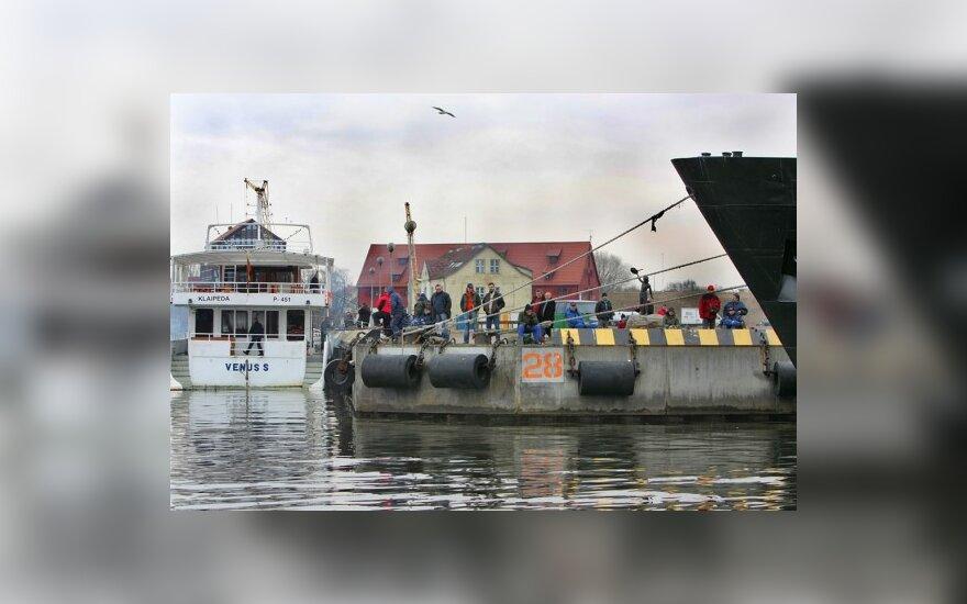 Клайпедские судоверфи уступают конкурентам