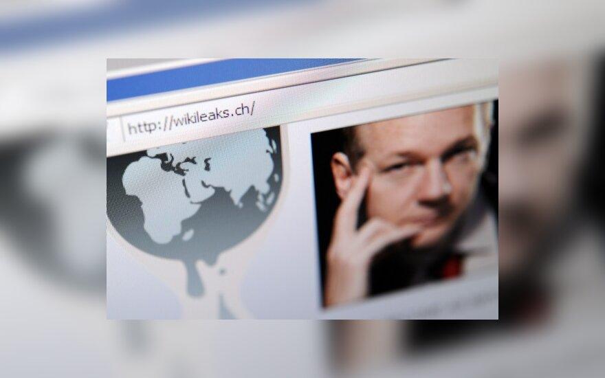 Wikileaks svetainė