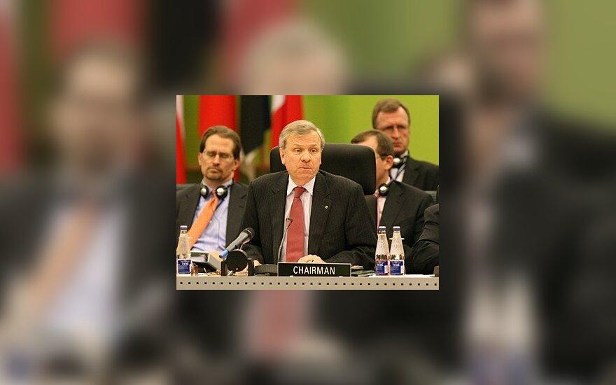 Последний гость В.Адамкуса – руководитель НАТО