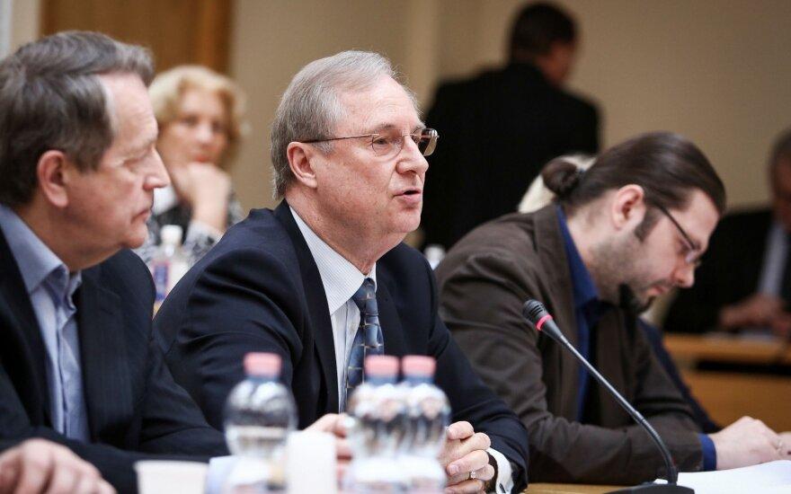 Глава Литовской комиссии по радио и ТВ прервал карьеру