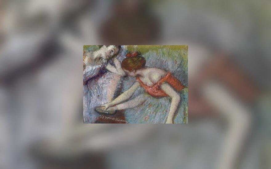 """Фрагмент рисунка """"Танцовщицы"""" работы Эдгара Дега. Репродукция с сайта Christie's"""
