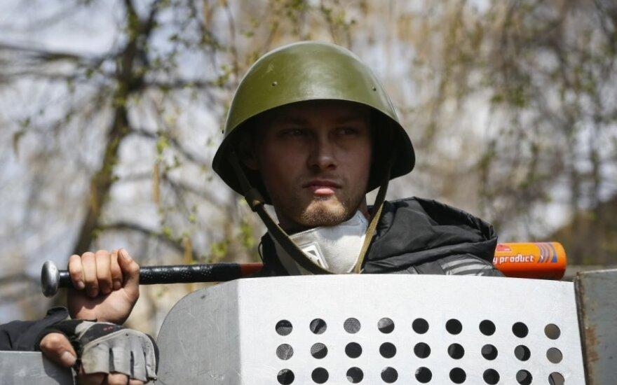 В Славянске боевики сбрасывают тела погибших в озеро
