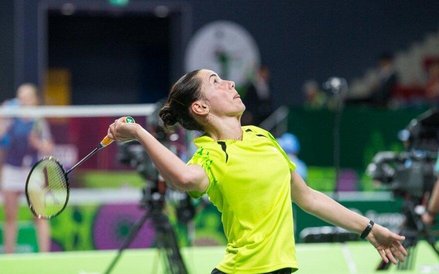 Бадминтонистка из Литвы стала чемпионом Голландии