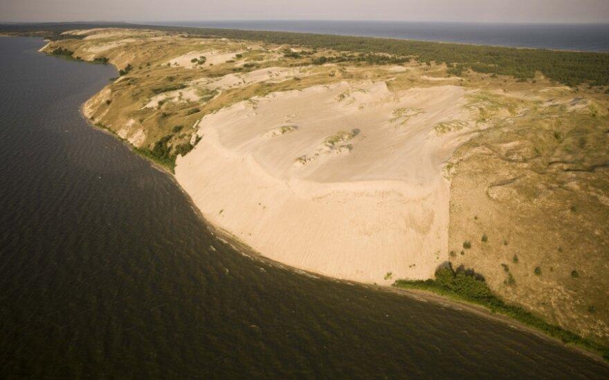 Французская газета представляет Нерингу как пляж мечты