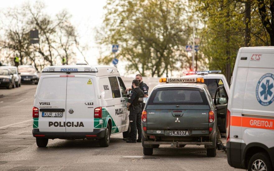 В Вильнюсе был обнаружен предмет, напоминающий снаряд