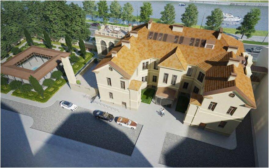 Vilniaus širdyje planuojamos didelės statybos