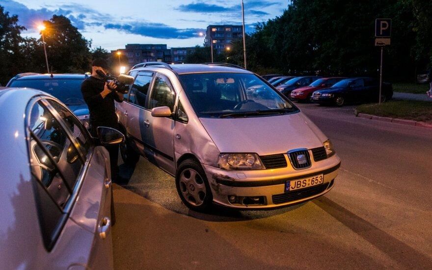 Вильнюсцы задержали и передали полиции пьяного водителя