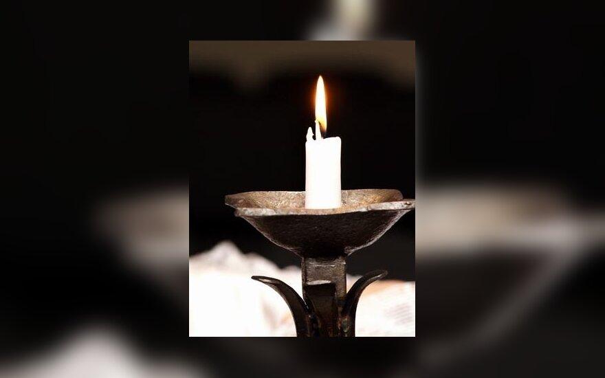 laidotuvės, žvakė, gedulas