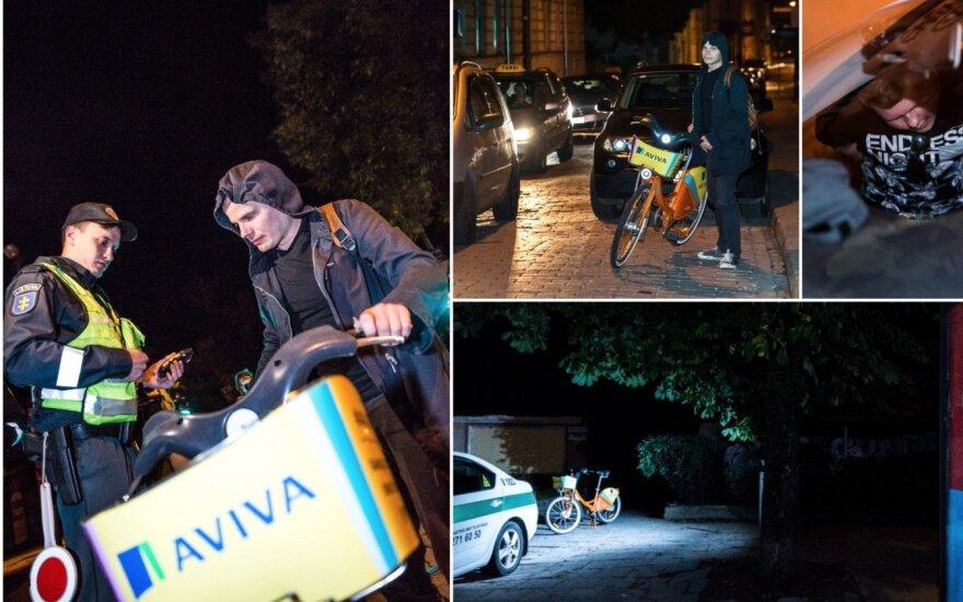 Рейд в Вильнюсе: пьяный водитель BMW жены боится больше, чем тюрьмы