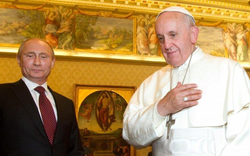 Władimir Putin złożył roboczą wizytę w Rzymie