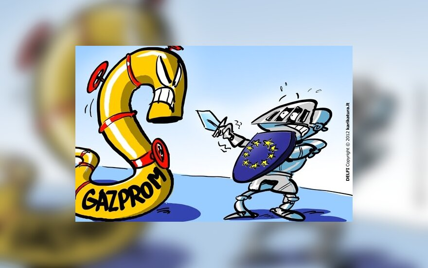 """Litwa podaje do sądu """"Gazprom"""", żąda 5 miliardów litów"""