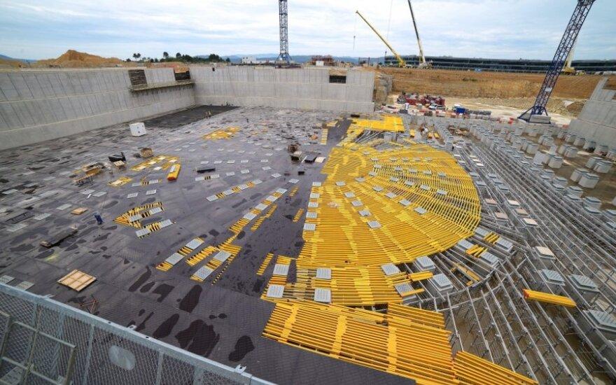 ITER reaktoriaus statybos