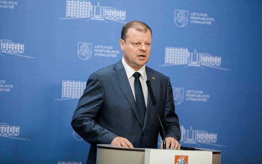 Премьер-министр Литвы: тотального налога на автомобили не будет
