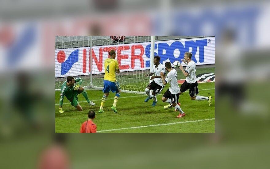 Австрийцы едут на ЕВРО-2016, а Россия громит Лихтенштейн
