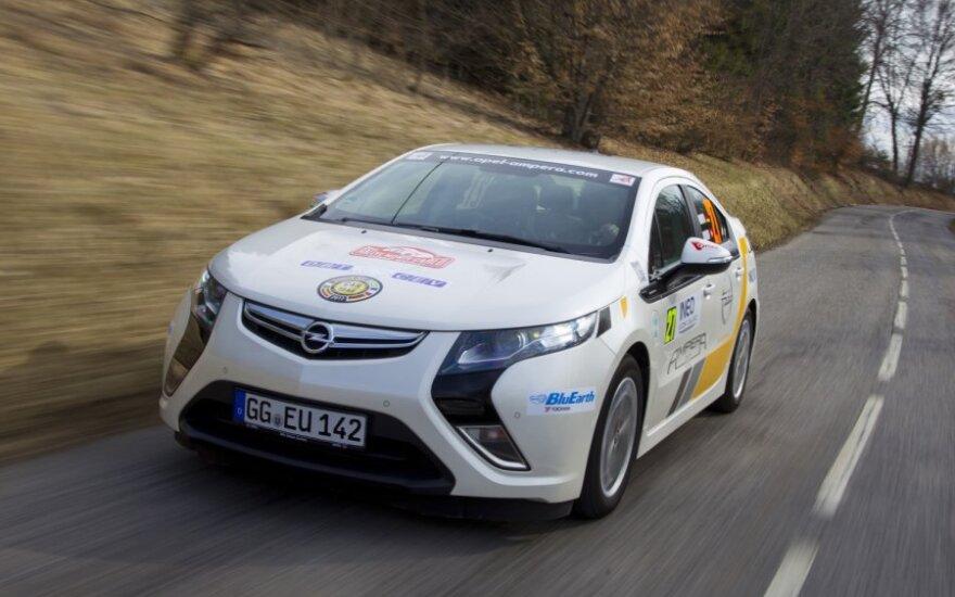 Opel Ampera признан самым популярным электрокаром в Европе