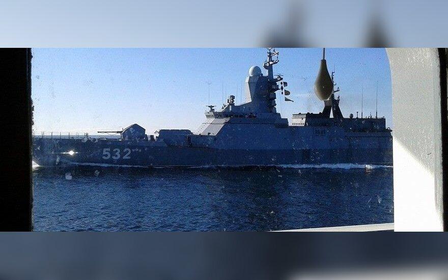 На Балтийском флоте начались учения пехотинцев