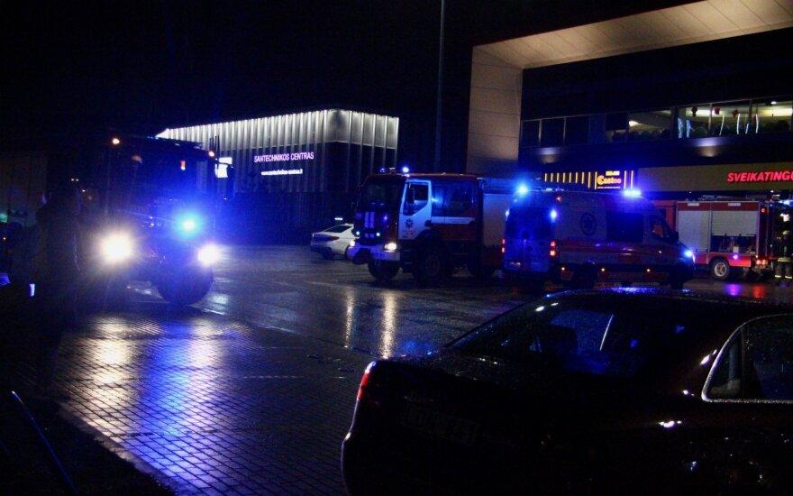 В Вильнюсе был эвакуирован спортивный центр Impuls