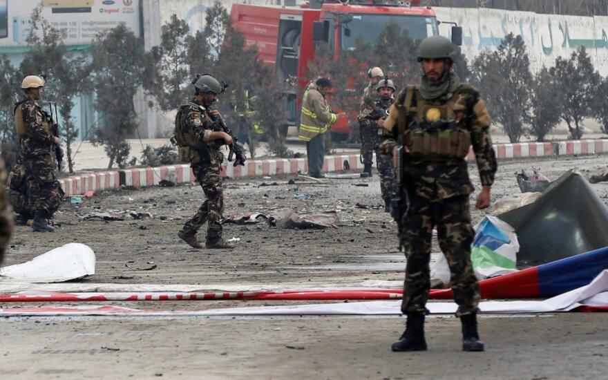 Число жертв атаки смертника в Кабуле возросло до десяти человек