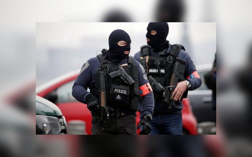 Policijos reidas Belgijoje