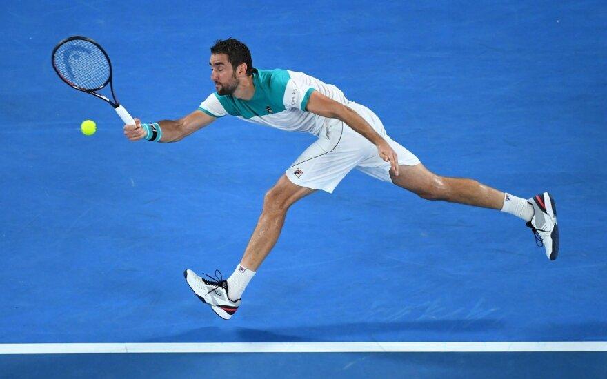 """Australian Open"" finalas: Rogeris Federeris - Marinas Čiličius"