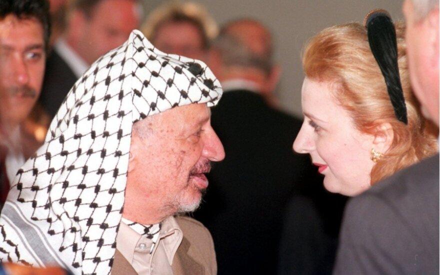 Yasseras Arafatas ir Suha Arafat
