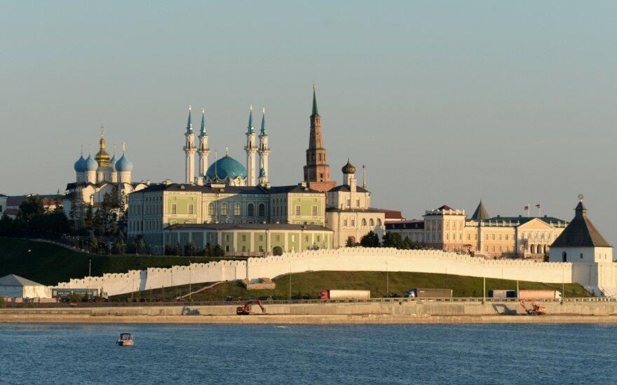 Kazanėje laukiama pasaulio studentų universiados starto