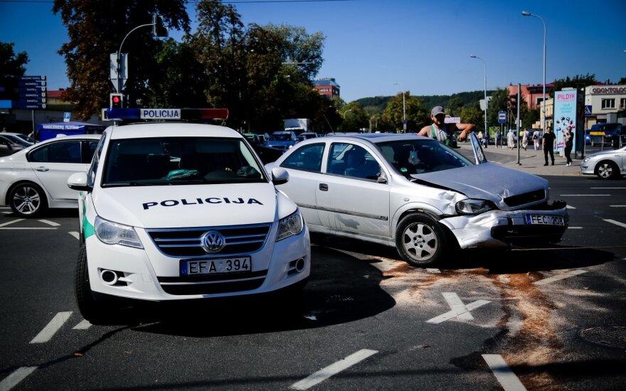 В Вильнюсе в ДТП пострадал мужчина