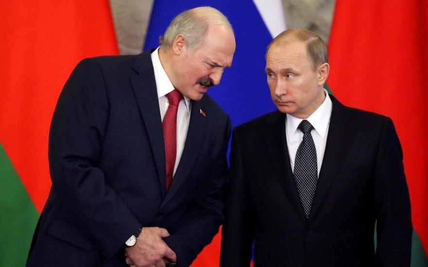 A. Lukashenko, V. Putin