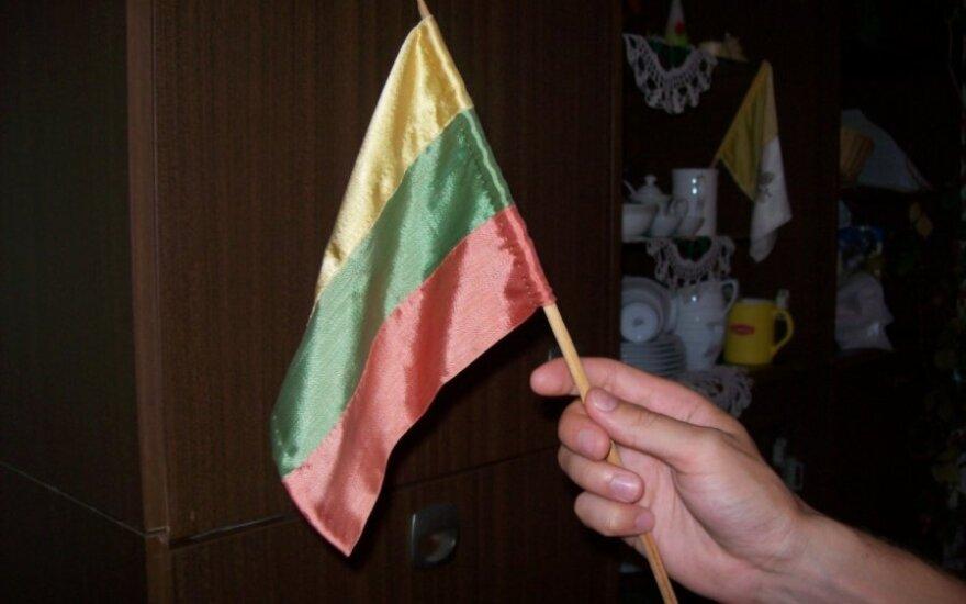 Ограблены продававшие литовские флажки белорусы