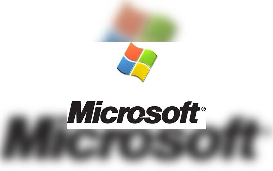 "Senas ""Microsoft"" logotipas"