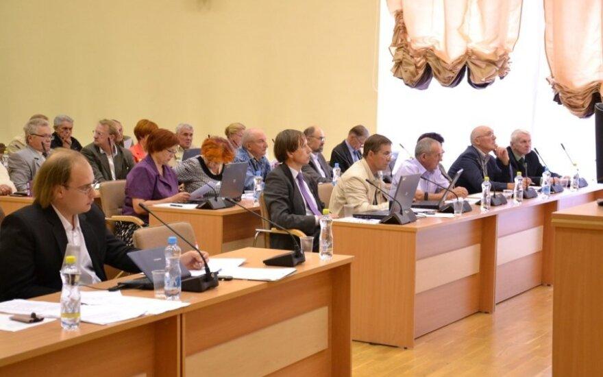 Posiedzenie Rady Samorządu Rejonu Wileńskiego
