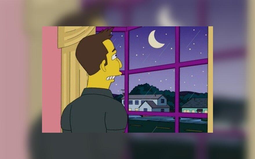 """Elonas Muskas """"Simpsonų"""" seriale"""