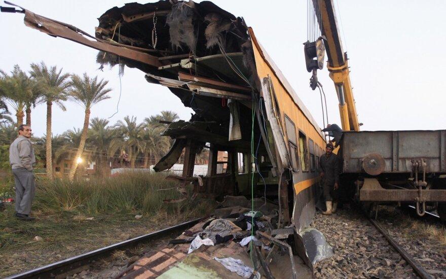 Traukinio avarija Egipte