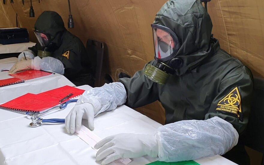 Koronavirusas Rusijoje