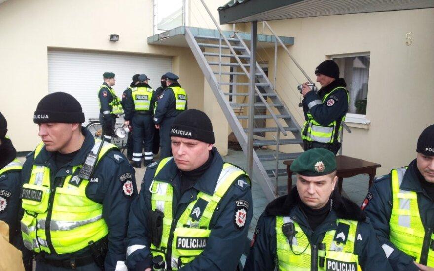 Венцкене обвиняет полицию в применении силы, полиция – опровергает