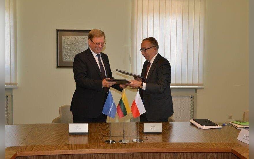 Litewskie i polskie koleje dążą do efektywnej współpracy. Foto: litrail.lt