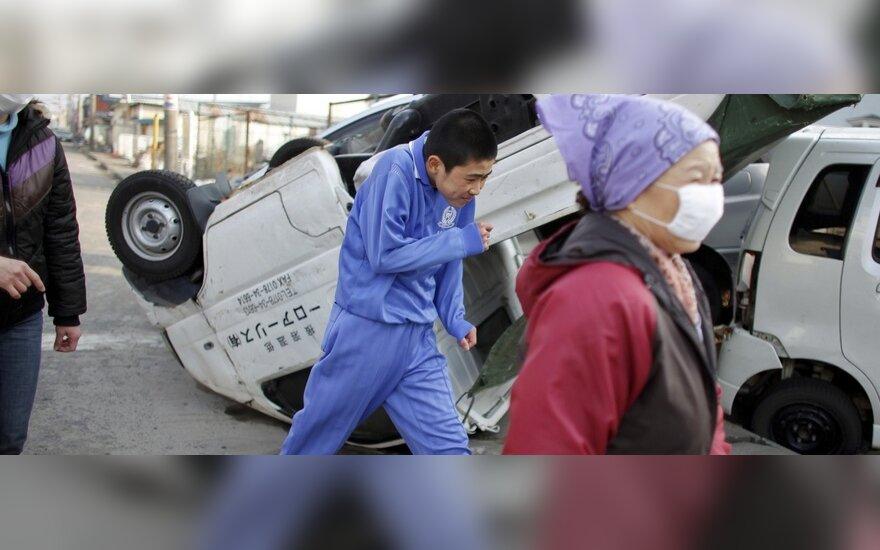 Japonija po žemės drebėjimo