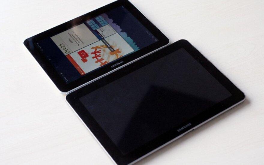 Samsung Galaxy Tab planšetiniai kompiuteriai