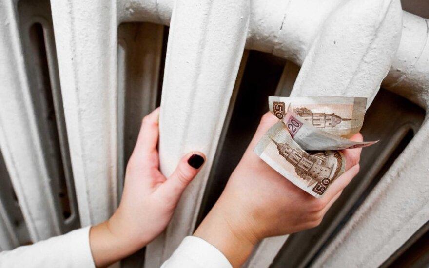 Счета за отопление в марте – на четверть больше