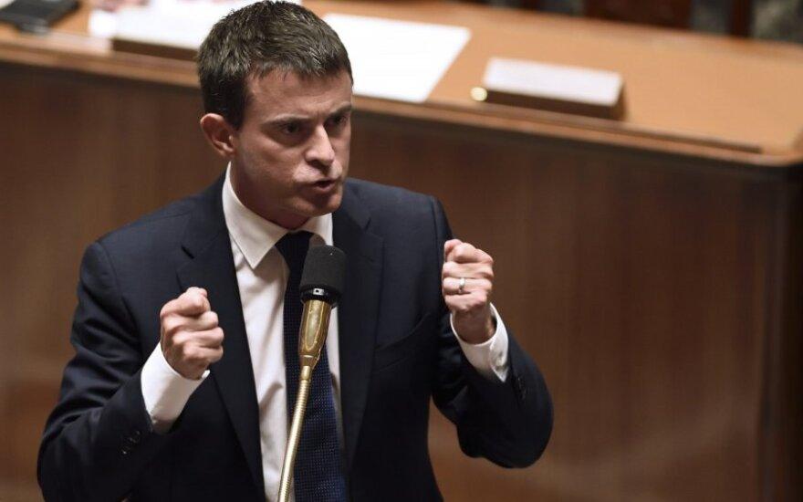 Prancūzijos premjeras Manuelis Vallsas