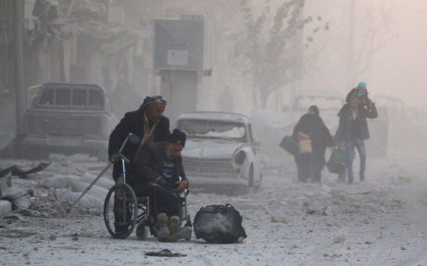 Число жертв теракта около Алеппо превысило 110 человек