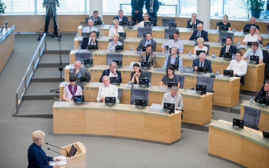 Президент Литвы: нам следует сохранить ценностный хребет, а не угождать