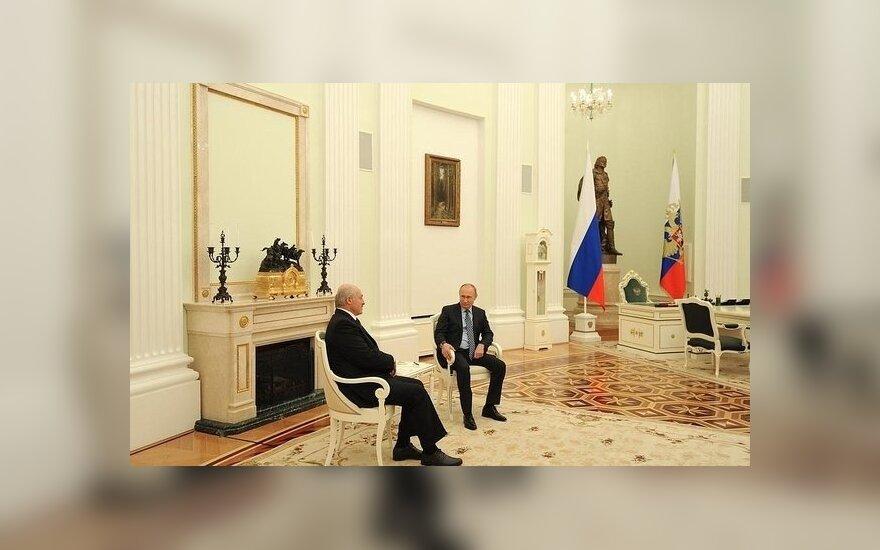 Лукашенко и Путин встретились в Москве