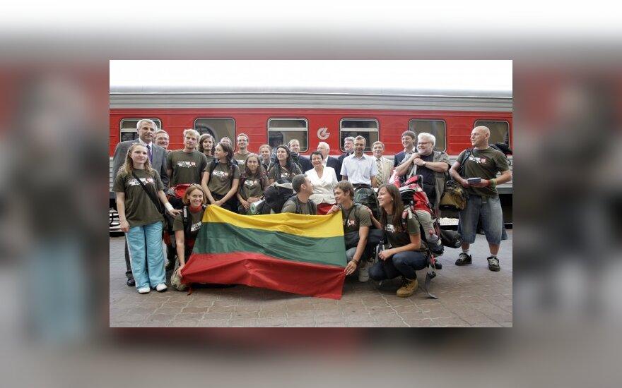 """Участники """"Миссии Сибирь'09"""" отправились в Казахстан"""