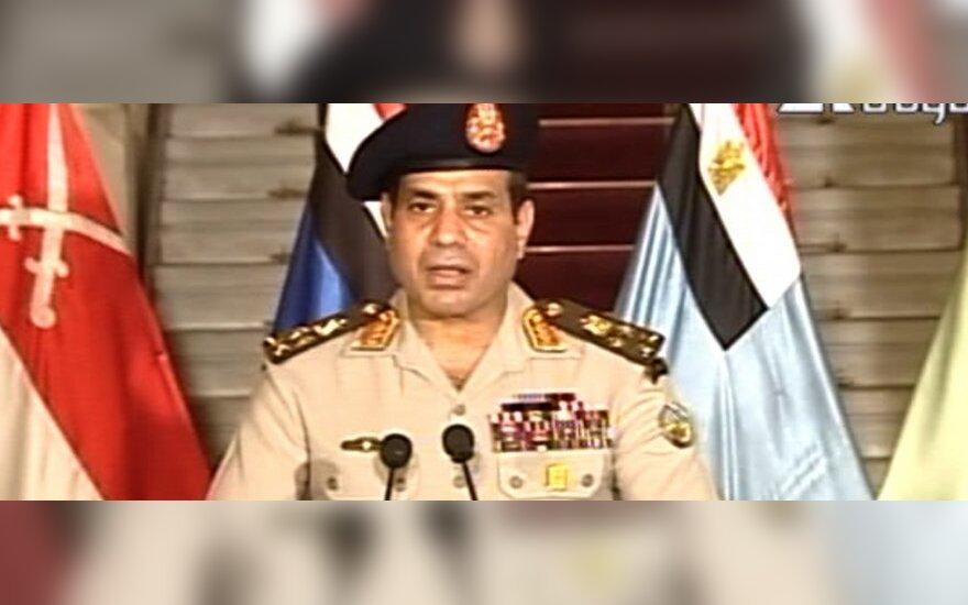 Egipto generolas Abdul Fattah Al Sisi